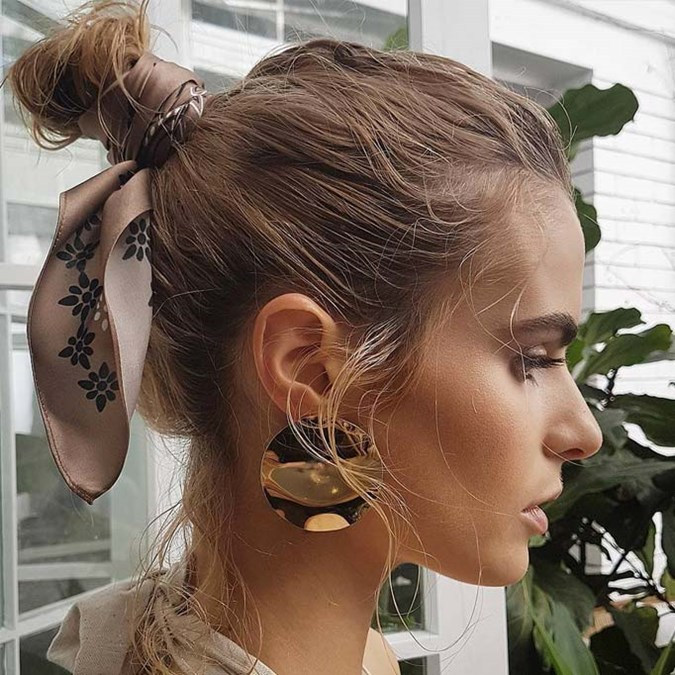 Scarf Hair Accessories Are Your New Summer Essential Beauty Crew