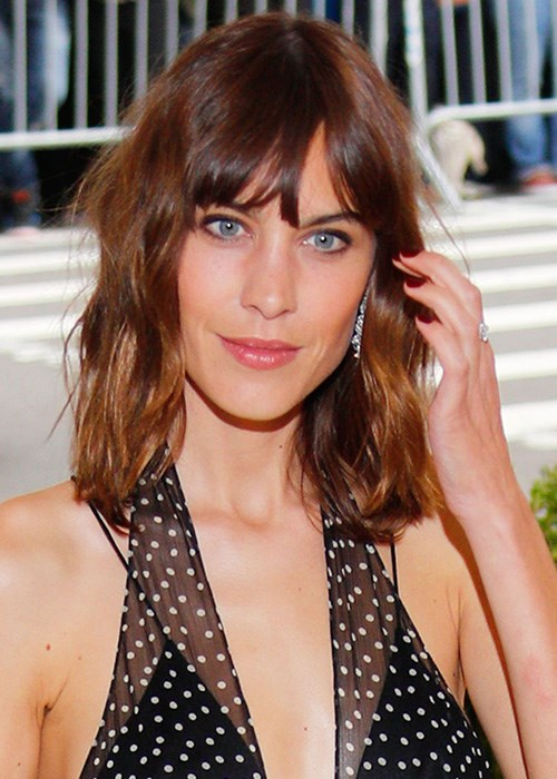 Tips To Ensure You Nail Your New Year Hair Makeover - Alexa Chung