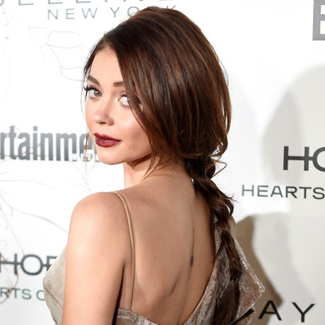 Hair How-To Smooth Braid - Sarah Hyland