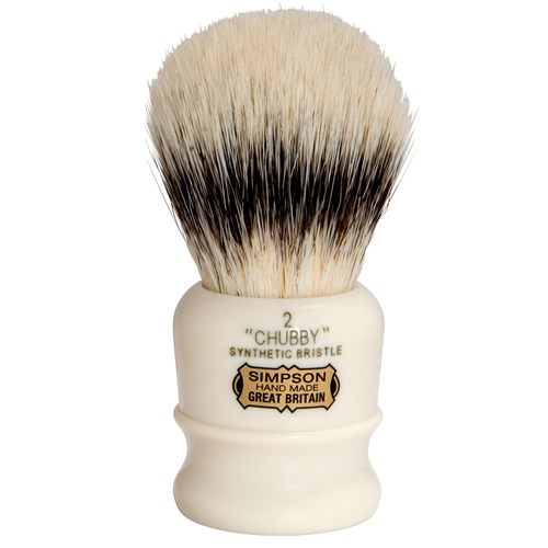 Simpsons Synthetic Shaving Brush Chubby 2