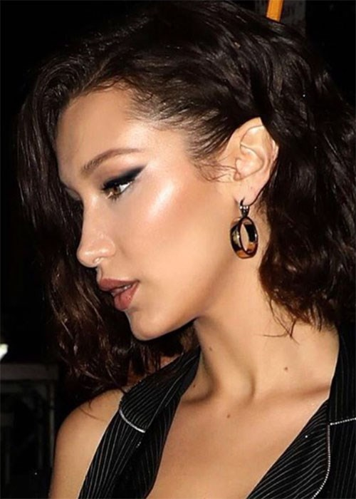 Bella Hadid highlighter