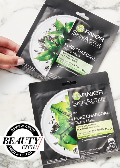 Garnier SkinActive Pure Charcoal Tissue Mask Reviews