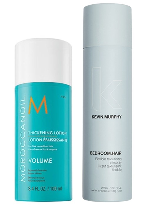Moroccanoil Thickening Lotion & Kevin.Murphy Bedroom.Hair