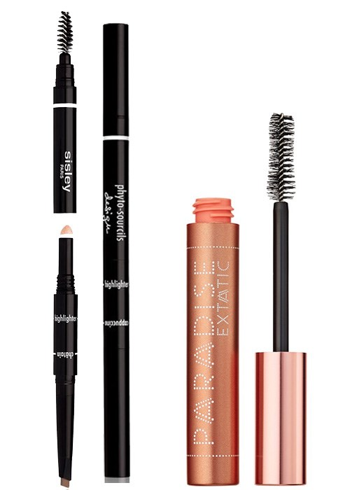 Sisley Phyto Sourcils Design and L'Oréal Paris Paradise Mascara