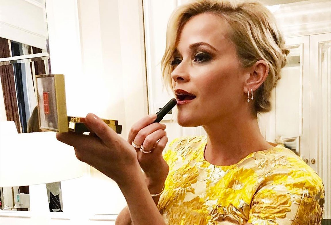 Reese Witherspoon Elizabeth Ardens Red Lip Campaign Beautycrew