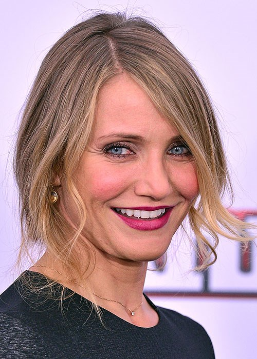 Cameron Diaz redness