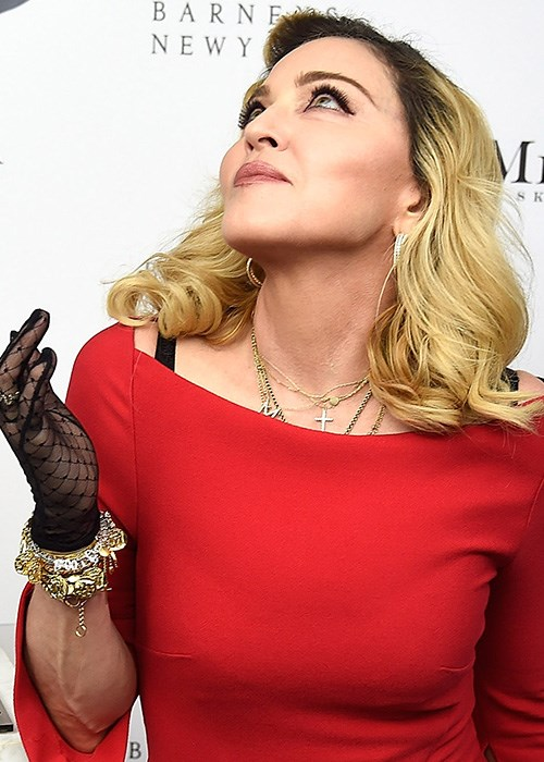 Unexpected Body Part Where Madonna Applies Clay Masks
