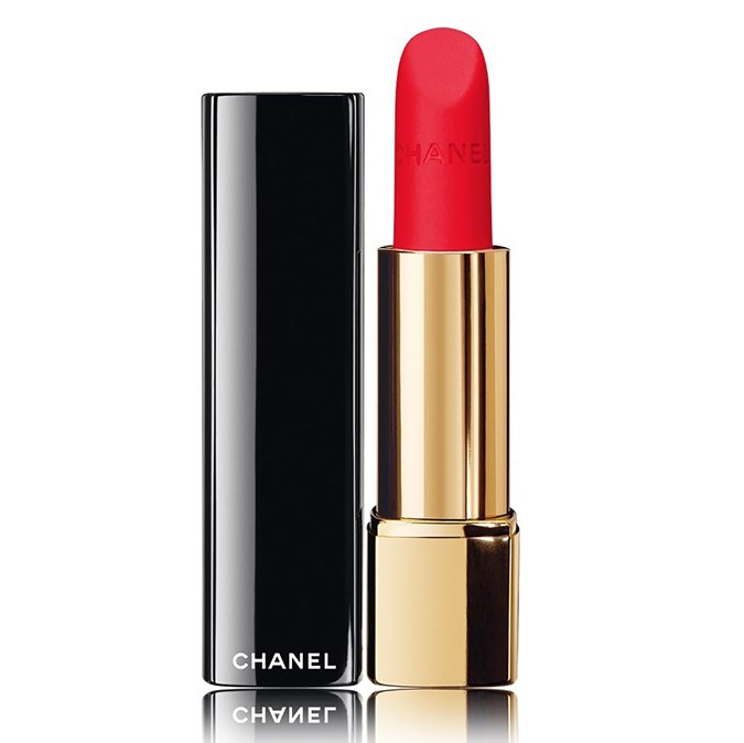 CHANEL rouge allure velvet luminous matte lip colour l'indomabile