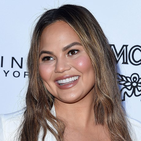 Chrissy Teigen's Met Gala hair tutorial