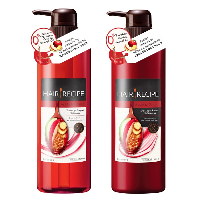 Apple & Ginger Damage Repair Shampoo and Conditioner