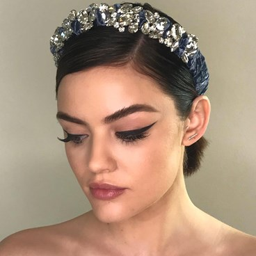 Lucy Hale eyeliner tricks you need to know