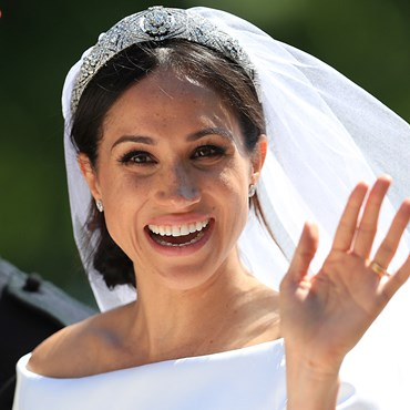 Meghan Markle wedding day
