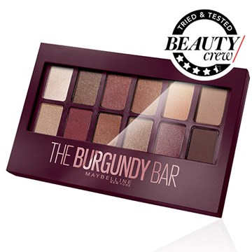 Maybelline New York Burgundy Bar Eyeshadow Palette