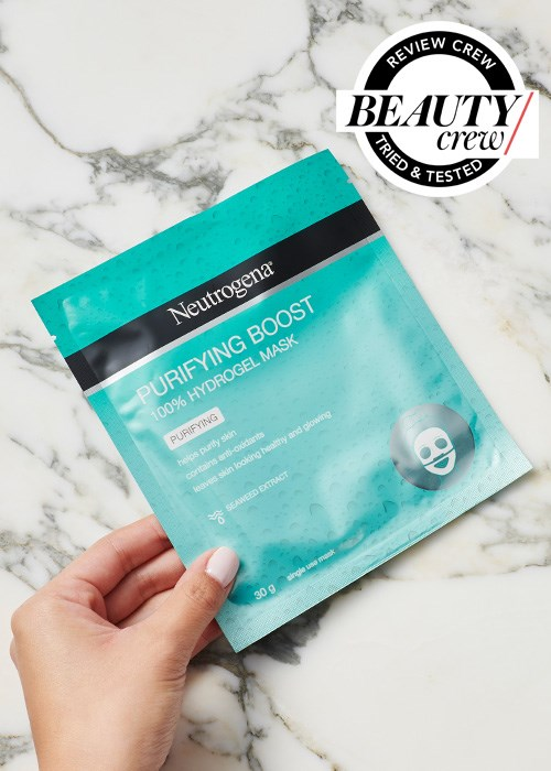 Neutrogena Purifying Boost Hydrogel Sheet Mask Reviews