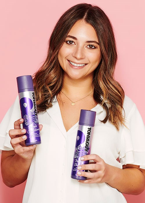 Toni & Guy Purple shampoo and conditioner review
