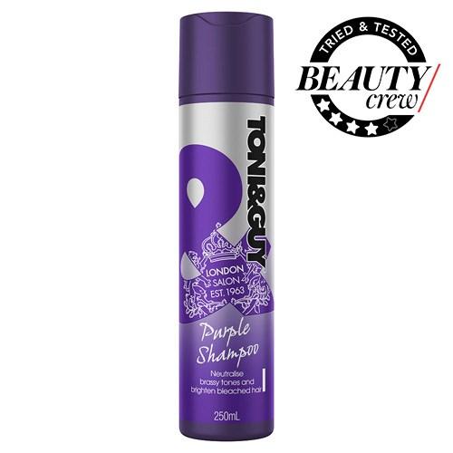 Toni Guy Purple Shampoo Review Beauty Crew