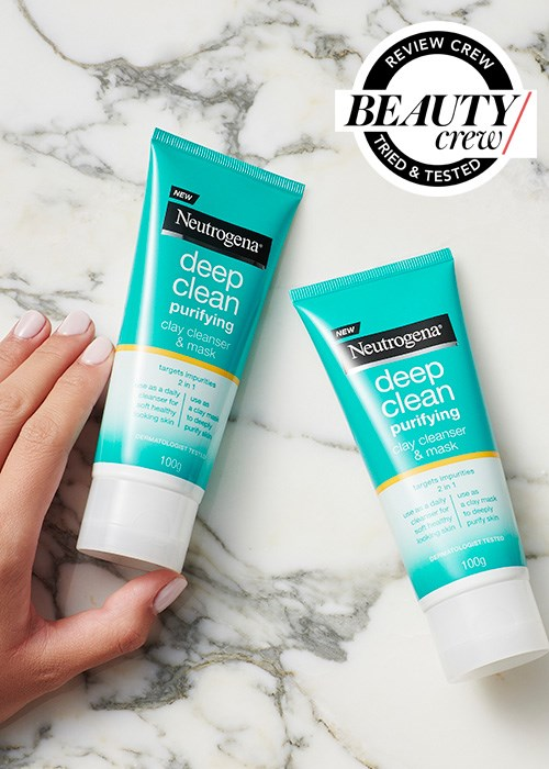 Neutrogena Deep Clean Purifying Clay Cleanser Mask Reviews