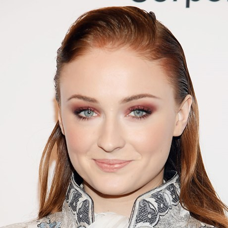 Sophie Turner's hair transformation