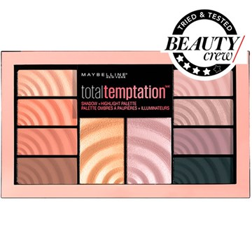 Maybelline New York Total Temptation Shadow and Highlight Palette