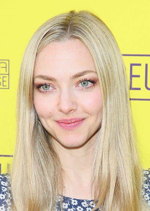 Amanda Seyfried's smoky eye makeup