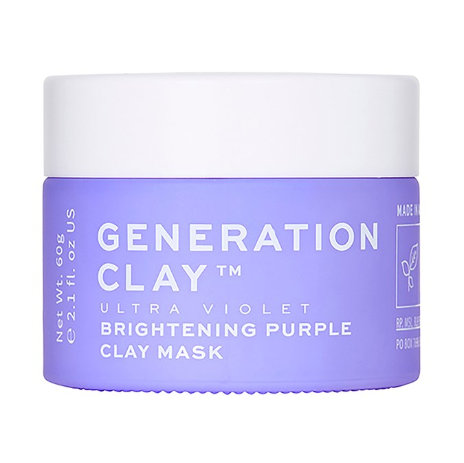 Generation Clay Ultra Violet Purple Brightening Mask