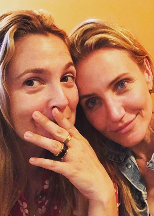 Drew Barrymore and Cameron Diaz reveal favourite face mask
