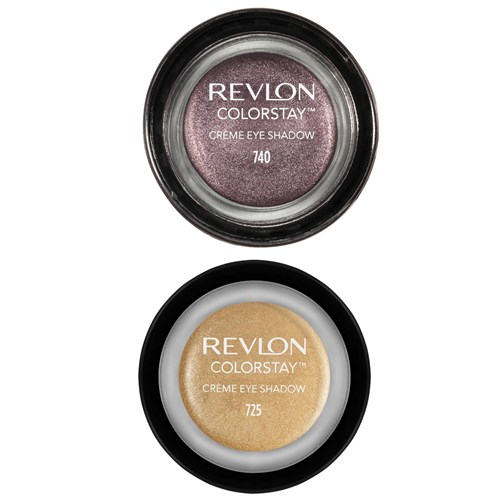 Revlon ColorStay Crème Eyeshadow in Black Currant and Honey