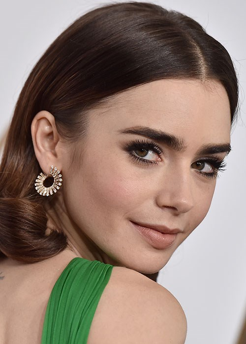 Eyebrow Tinting at Home - How to Dye Your Own Eyebrows - Lily Collins