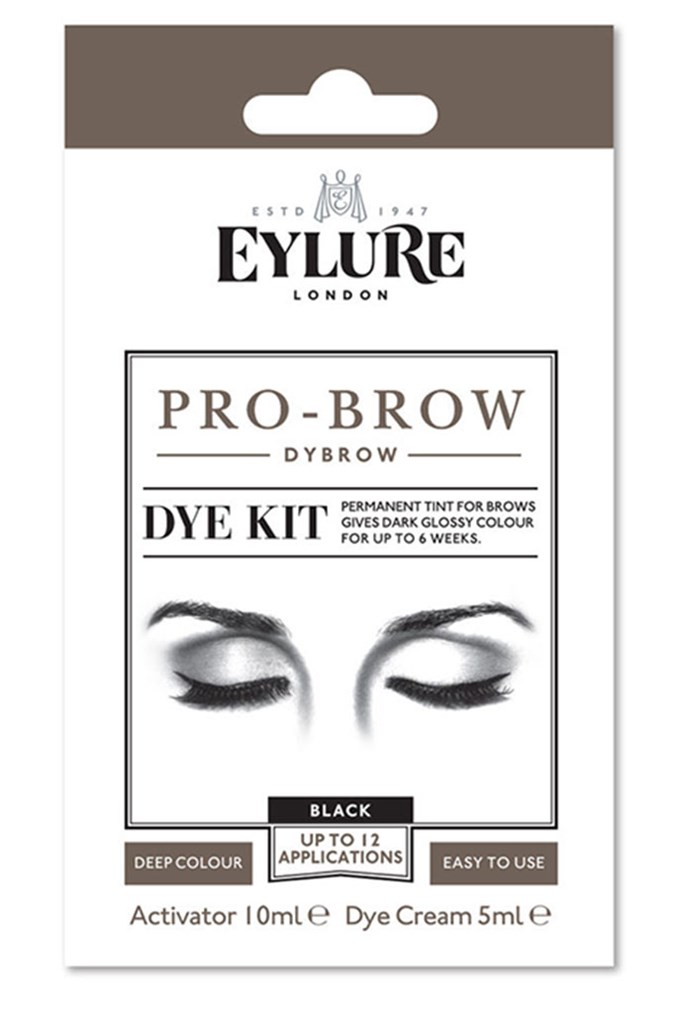 Eyebrow Tinting At Home How To Dye Your Own Eyebrows Beautycrew