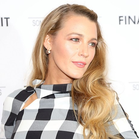 Blake Lively's fishtail braid