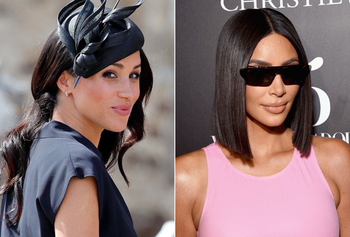 Kim Kardashian Meghan Markle Luminous Silk
