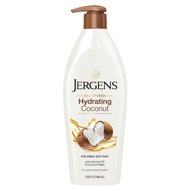 JERGENS Oil Infused Hydrating Coconut Moisturiser