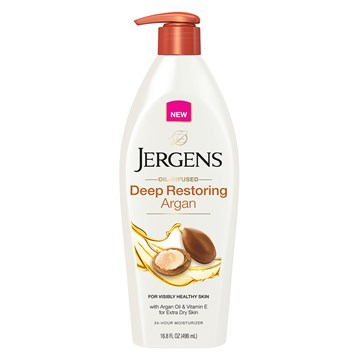 JERGENS Oil Infused Deep Restoring Argan Moisturiser