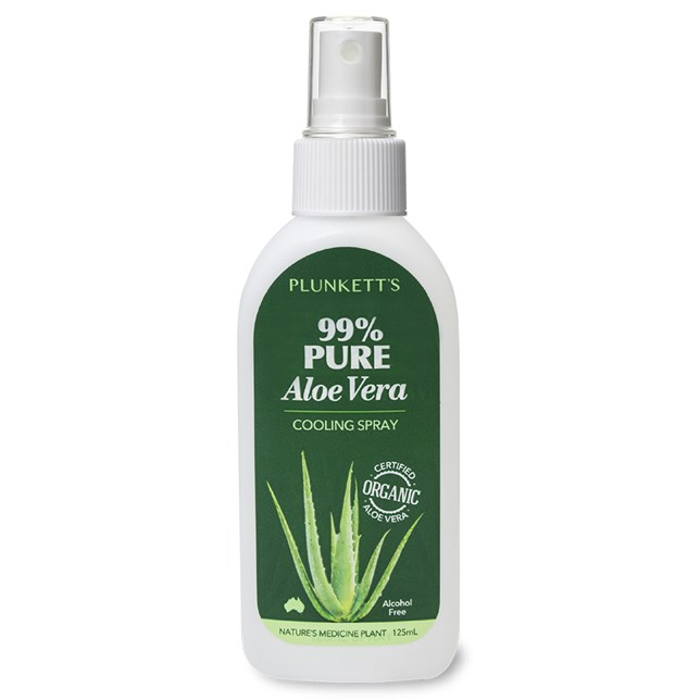 Plunkett's 99% Pure Aloe Vera Cooling Spray