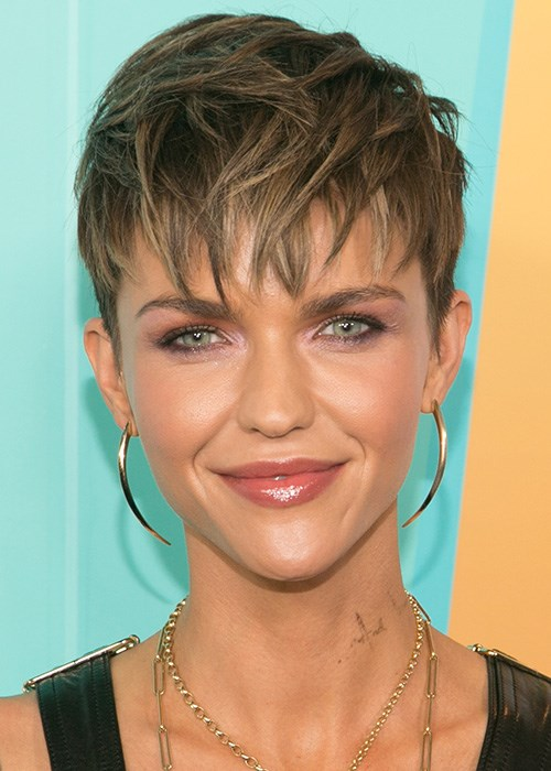 Ruby Rose Pixie Cut Hairstyle