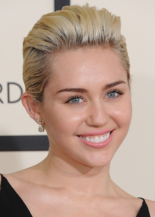 Miley Cyrus Pixie Cut Hairstyle