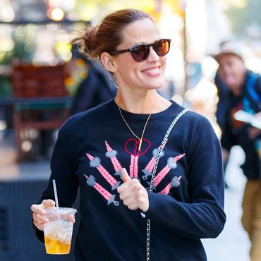 Jennifer Garner juice