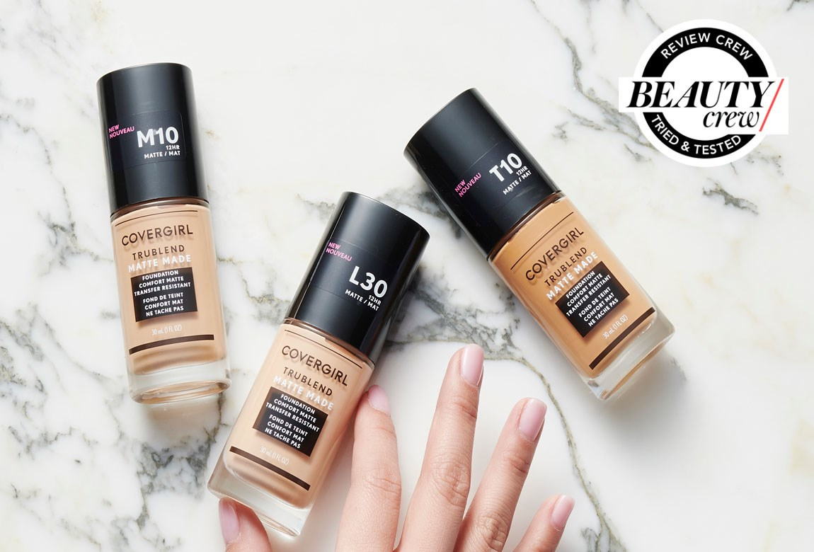 Covergirl Trublend Matte Made Foundation Reviews Beauty Crew