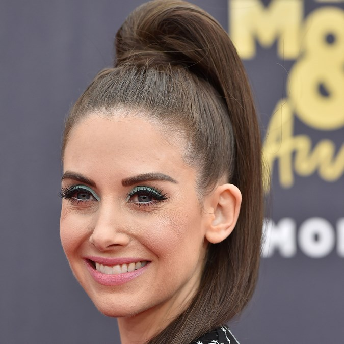 best celebrity ponytails
