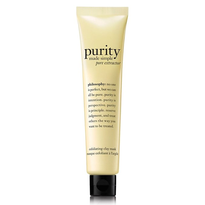 Philosophy Purity Made Simple Pore Extractor Exfoliating Clay Mask