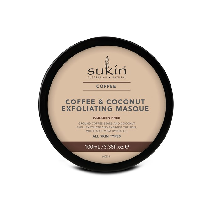 Sukin Coffee & Coconut Exfoliating Facial Masque
