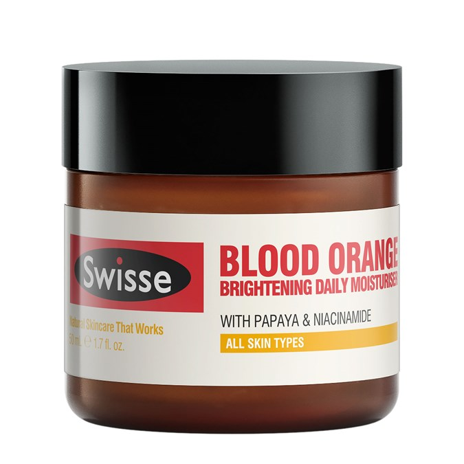 Swisse Blood Orange Brightening Daily Moisturiser