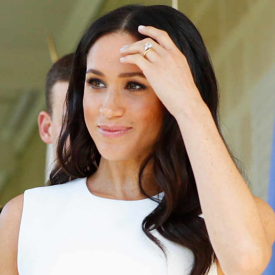 All of Meghan Markle's hair look from her Australian tour