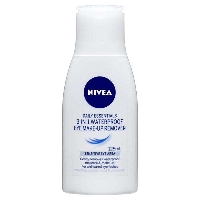 NIVEA Daily Essentials 3-in-1 Waterproof Make-Up Remover
