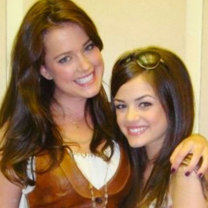 Lucy Hale bad brows
