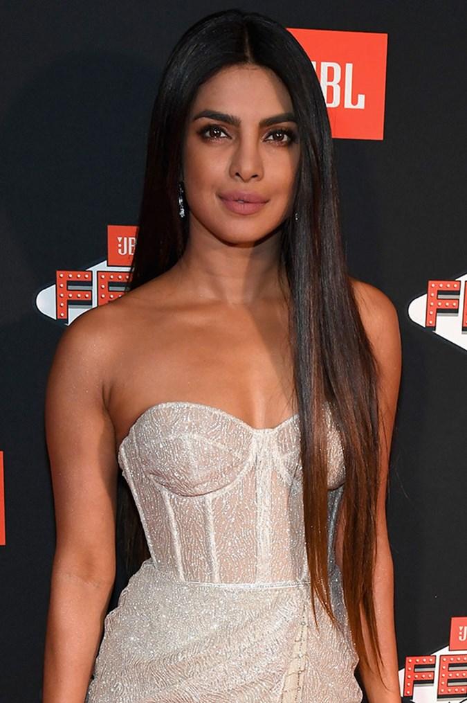Priyanka Chopra S Long Hair Gives Kim Kardashian A Run For Her