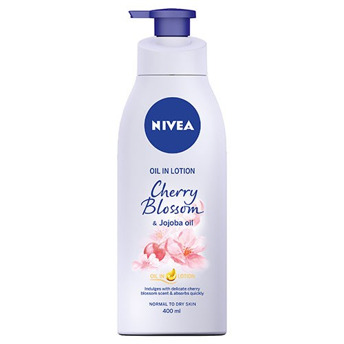 NIVEA Oil Infused Lotion Cherry Blossom & Jojoba Oil