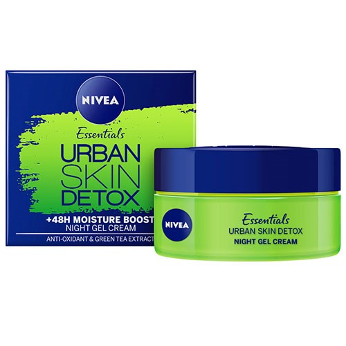 NIVEA 1 Minute Urban Skin Defence +48h Moisture Boost Night Cream