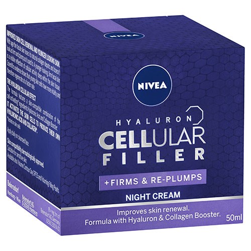 NIVEA Cellular Hyaluron Filler Night Cream