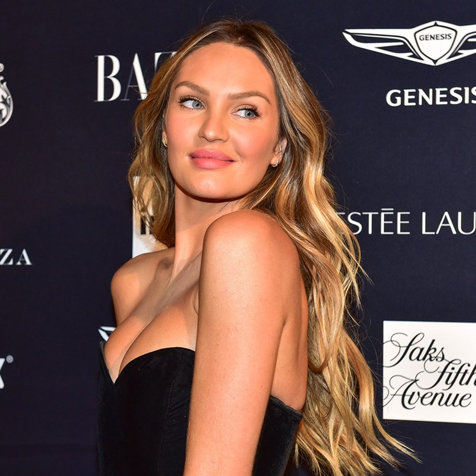 Candice Swanepoel summer haircare routine